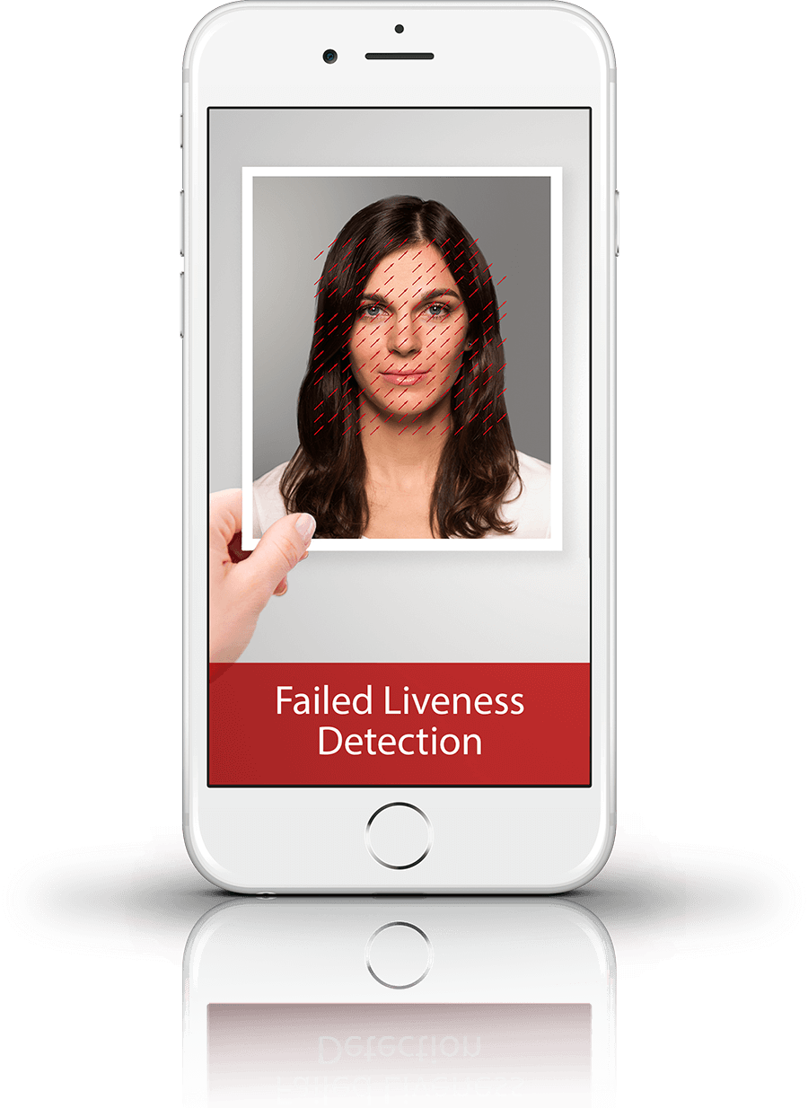 Face Scanner - Failed liveness detection